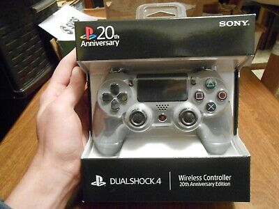 PS4 DualShock4 Wireless Controller PlayStation  20th Anniversary Band NEW