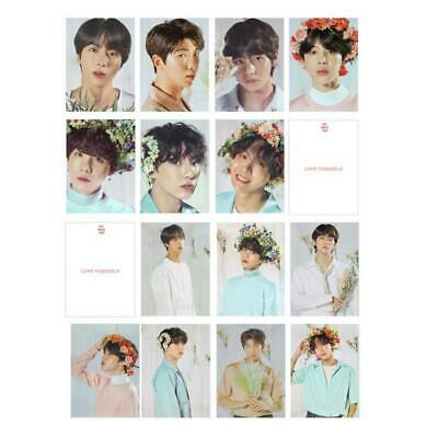 Kpop BTS World Tour Polaroid Photo Cards Love Yourself SUGA JIMIN V Photocard