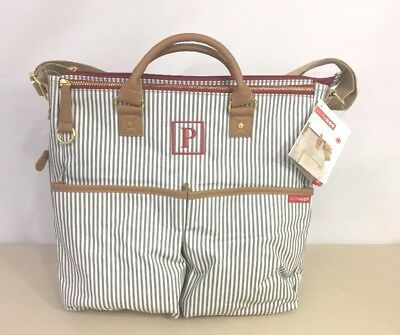 Skip Hop Baby Diaper Bag French Stripe Duo Special Edition Mono P