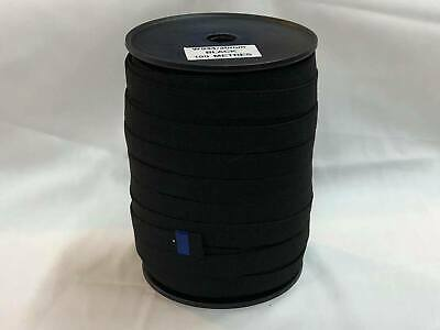 Elastic webbing 20mm high quality 100mt Roll black, sewing horse rug