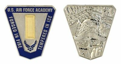 Us Air Force Academy Forged In Fire Tempered In Ice Challenge Coin
