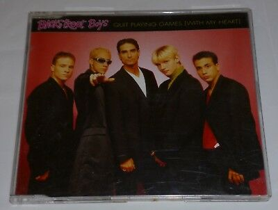 Backstreet Boys Quit Playing Games With My Heart Cd Single 1996 Pop Boy Band