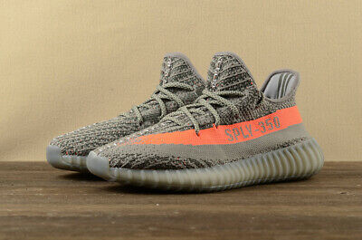 finest selection ebbbe 19a06 ADIDAS YEEZY BOOST 350 V2 Men's Running Trainers Shoes - Beluga
