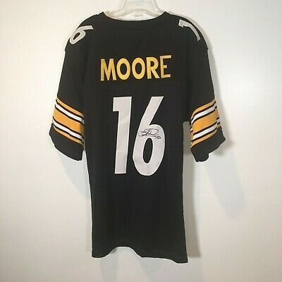 0337fa610 Lance Moore Autographed Signed Custom Pittsburgh Steelers Home Jersey  Saints XL