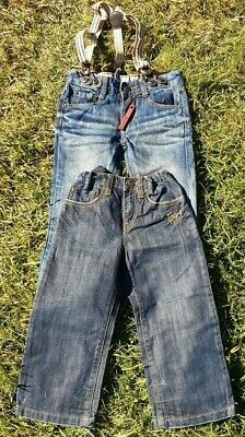 2 x Boys Jeans - DKNY and INDIE Jeans Size 3