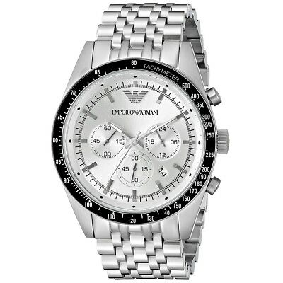 EMPORIO ARMANI Sportivo Chronograph Stainless Steel Men's Watch AR6073