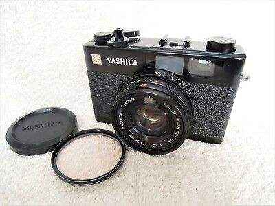 【EXC+++++】YASHICA ELECTRO 35 CC 35mm Rangefinder Camera w/Cap, from Japan