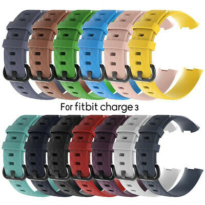 Strap Charge 3 Band Silicone Bracelet Replacement Wristband For Fitbit Charge 3