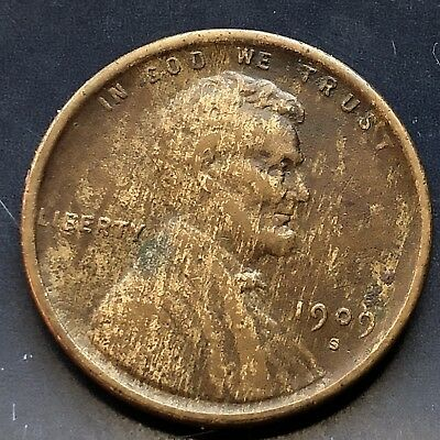1909 S Wheat Penny Lincoln Cent 1c nice coin RARE Key Date San Francisco #10006