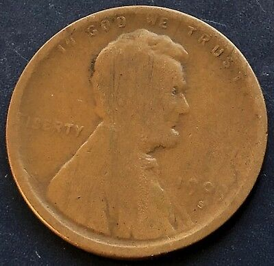 1909 S Wheat Penny Lincoln Cent 1c nice coin RARE Key Date San Francisco #10002
