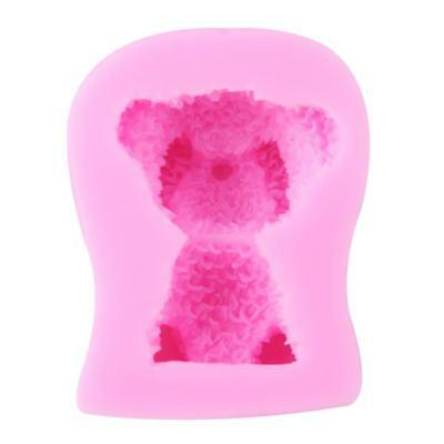 3D Bear Silicone Cake Chocolate Cookie Candy Pastry Mould Soap Ice Mold BS