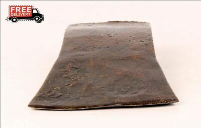 1850'S Indian Antique Hand Forged Iron Axe Head Nice Shape 8262