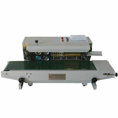 AUTOMATIC SEALING MACHINE 220V HORIZONTAL CONTINUOUS SEALER Top FR-900 Updated
