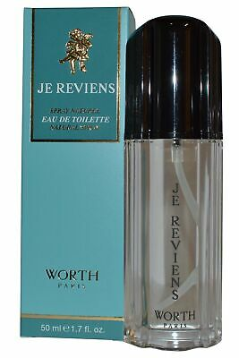 Worth Je Reviens EDT Eau de Toilette Spray 50ml Womens Fragrance