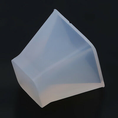 Pyramid Silicone Mould DIY Resin Decorative Craft Jewelry Making Mold BS