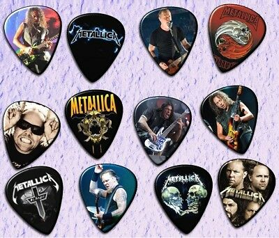 METALLICA Guitar Picks *Limited Edition* Set of 12