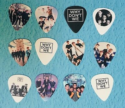 WHY DONT WE Guitar Picks Set of 12