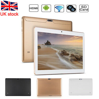 """10.1"""" Tablet PC 4G+64G Android 7.0 Octa-Core Dual SIM &Camera Phablet Phone Wifi"""