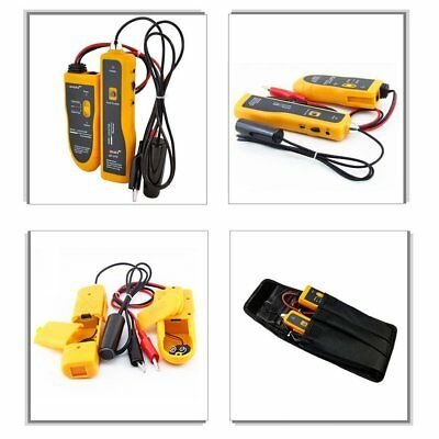Wire Locator Underground Wire Finder Tube Wall Lan Tracer Cable Tester Detector