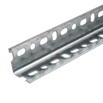Galvanised Dexion Type Slotted Shelving Angle 3m x 38mm x 38mm x 2mm