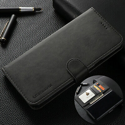 For Samsung Note10+ S10e S10+ Plus Deluxe Magnet Leather Wallet Stand Case Cover