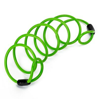 Motorcycle Motorbike Scooter Accessories Disc Lock Reminder Cable Green