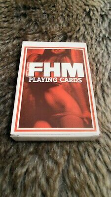 Vintage Adult Playing Cards ( FHM )