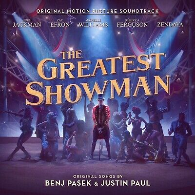 THE GREATEST SHOWMAN MOVIE SOUNDTRACK - Brand New CD Album