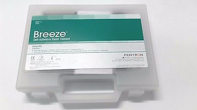 SET of 5 Breeze PENTRON Self-Adhesive Resin Permanent  Dental Cement  7.8gr x 5
