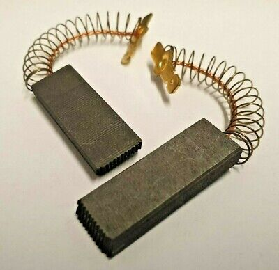 CODE 6 BOSCH SIEMENS WASHING MACHINE CARBON BRUSHES X2 154740