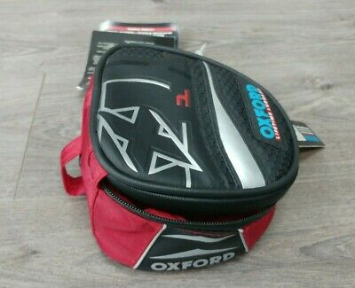 Oxford Ol196 Red Magnetic Motorcycle Micro Tank Bag