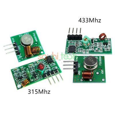1/5PCS 315/433 Mhz RF Transmitter And Receiver Module