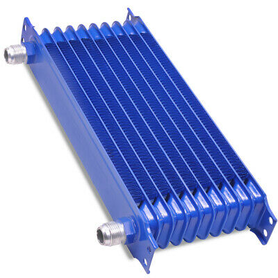 Universal Alloy 10 Row Race Sport Engine Drift Custom Kit Car Oil Cooler