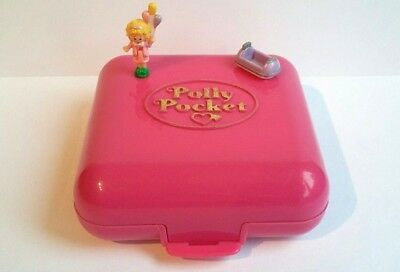 Vintage  Polly Pocket 1989 Pollys polly's World 100% Complete Good Condition