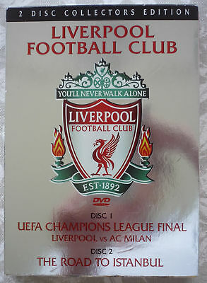 dac4cab24dc Liverpool FC - The Final   The Road To Istanbul - 2 DVD set when we