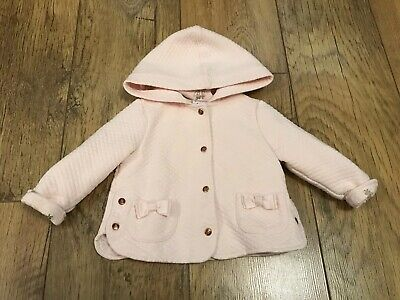 Ted Baker Girls Gold B jacket/coat 3-6 Months