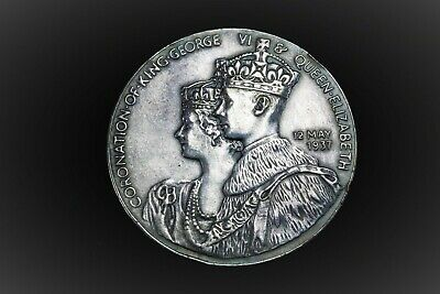 George VI coronation 1937 medal coin in box of issue