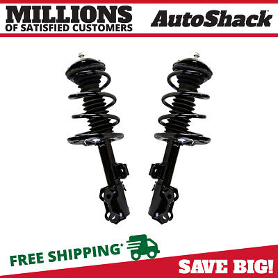 Front Pair (2) Complete Strut Assembly w/Coil Spring Fits 2006-2012 Toyota RAV4