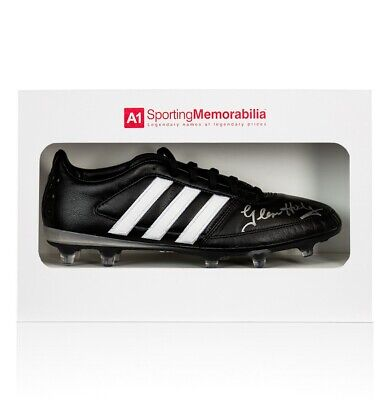 Graeme Souness Signed Football Boot Adidas - Gift Box Autograph Cleat