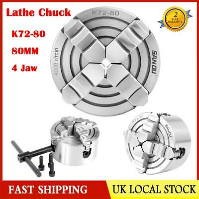 Gloster 4 Jaw independent 125mm Lathe Chuck QUALITY