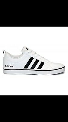 best service 75bf8 87322 Adidas NEO Men s Pace VS Fashion Sneakers Shoes White Black AW4594 9.5 (NEW)