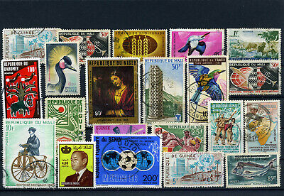 nice lot former FRENCH AFRICA, all postally used (4)