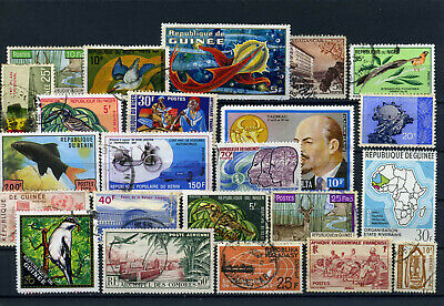 nice lot former FRENCH AFRICA, all postally used (5)