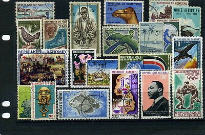 nice lot former FRENCH AFRICA, all postally used (6)