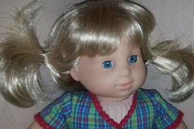 PRECIOUS American Girl BITTY BABY Blonde~Blue Eyed TWIN Girl~2 Tagged Outfits!