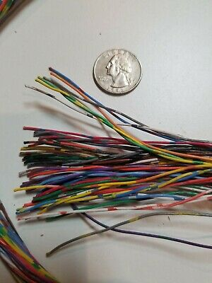 Super Thin Insulated Copper Wire- 6 Foot 10 In- 50 Strands with NO JACKET- Craft
