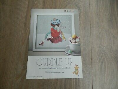 Belle and Boo Cuddle Up Cross Stitch Chart