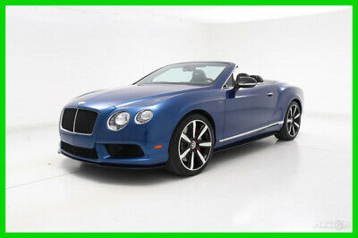 2014 Bentley Continental GTC V8 S  2014 Used Certified