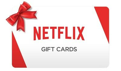 Netflix Gift Card - $30 - Instant Email delivery SALE!!