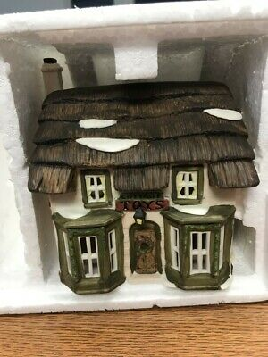 Dept 56 Dickens Christmas village series toy shop 1988 Lighted House